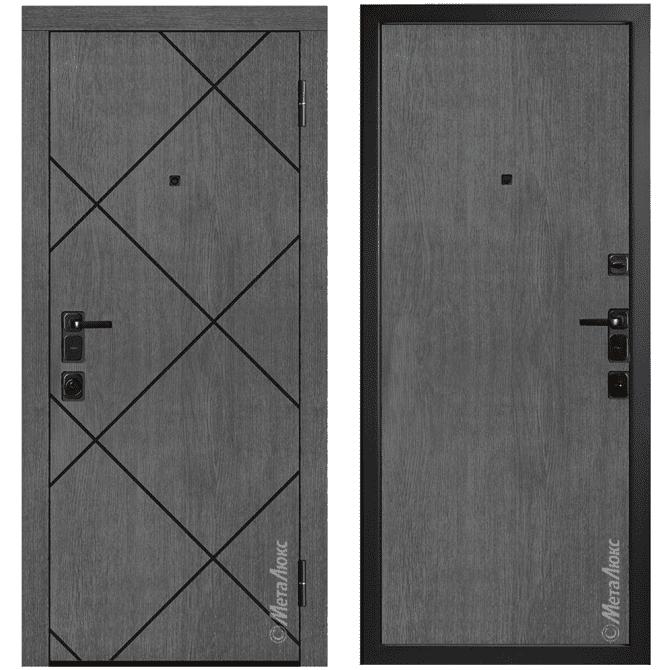 Дверь входная Металюкс ArtWood М1724/26