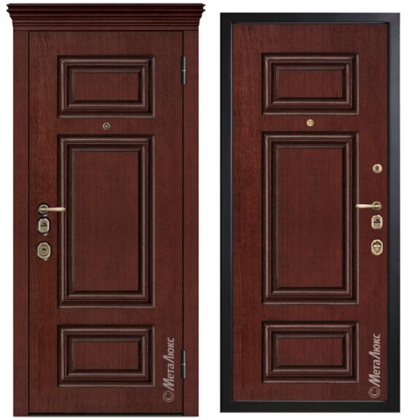 Дверь входная Металюкс ArtWood М1730/10