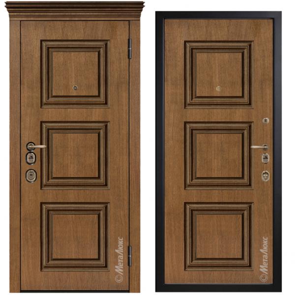 Дверь входная Металюкс ArtWood М1731/9