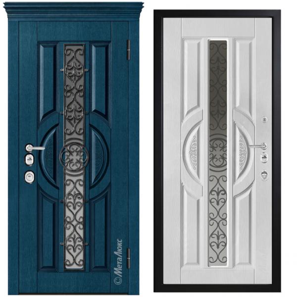 Дверь входная Металюкс ArtWood СМ1732/39