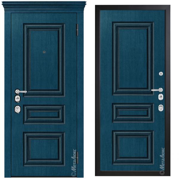 Дверь входная Металюкс ArtWood М1736/42