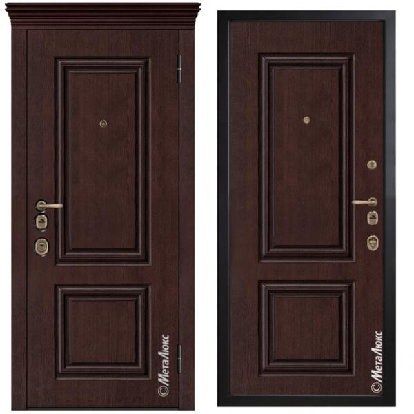 Дверь входная Металюкс ArtWood М1735/8