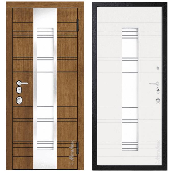 Дверь входная Металюкс ArtWood СМ1765/3 Е2