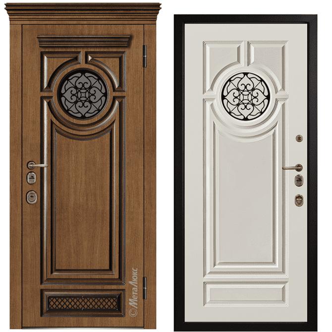 Дверь входная Металюкс ArtWood СМ1788/2 Е2