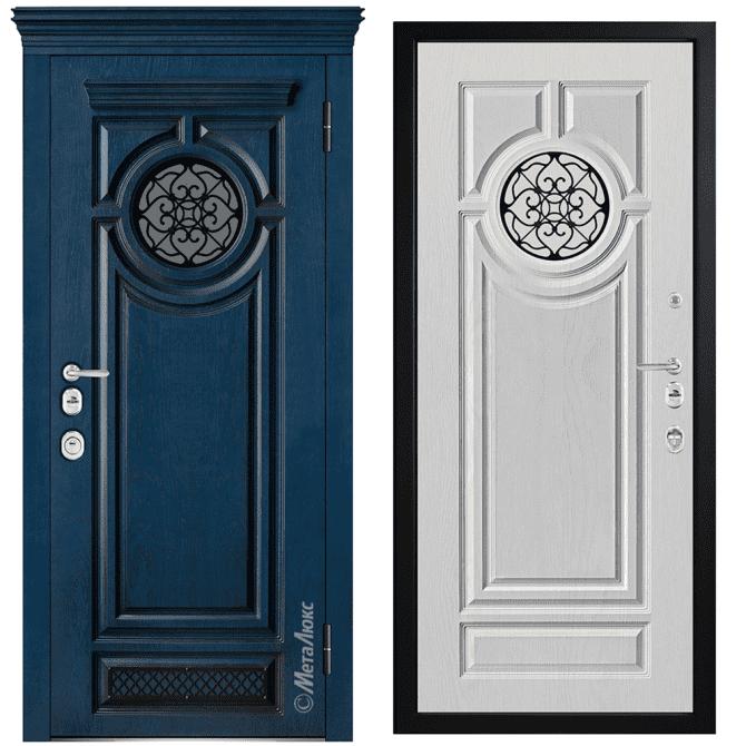 Дверь входная Металюкс ArtWood СМ1788/39