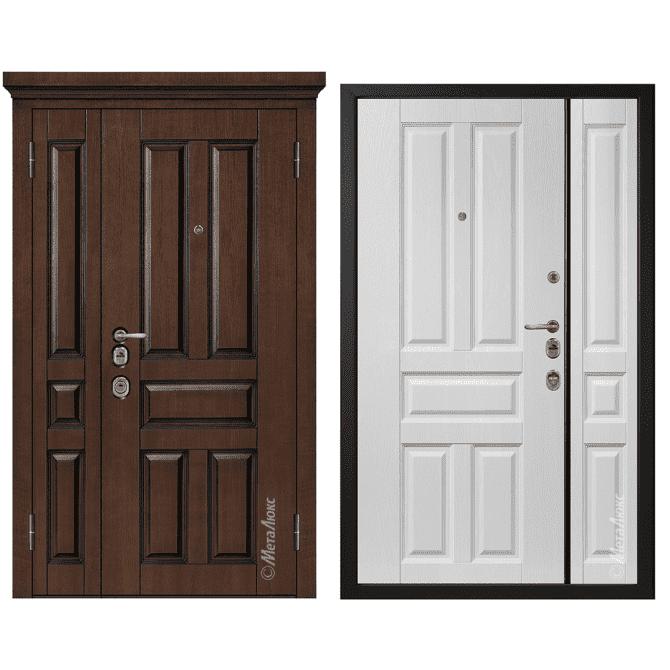 Дверь входная Металюкс ArtWood М1804/7 Е2