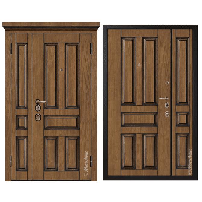 Дверь входная Металюкс ArtWood М1804/9