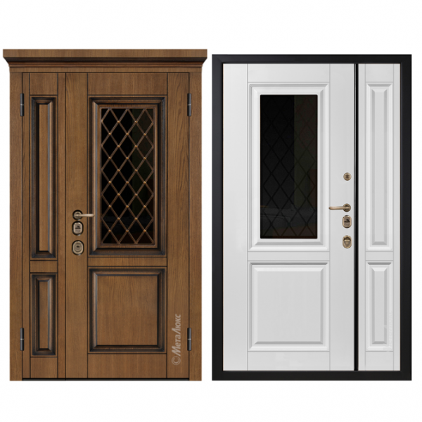 Дверь входная Металюкс ArtWood СМ1810/3 Е2