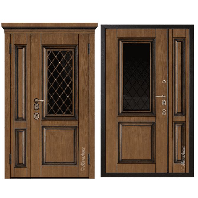 Дверь входная Металюкс ArtWood СМ1810/9