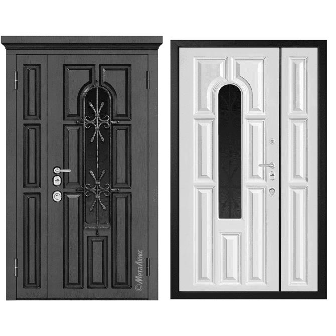 Дверь входная Металюкс ArtWood СМ1860/25 Е2