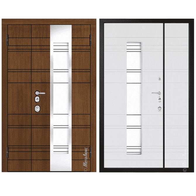 Дверь входная Металюкс ArtWood СМ1865/29