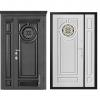 Дверь входная Металюкс ArtWood СМ1888/25 Е2