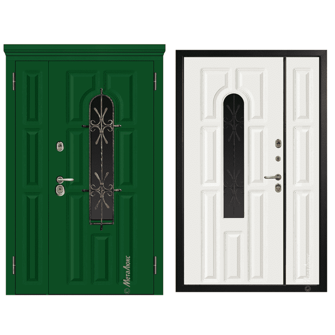 Дверь входная Металюкс Статус СМ860/27 Е