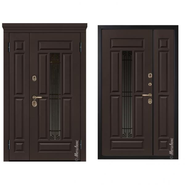 Дверь входная Металюкс Статус СМ862 Е